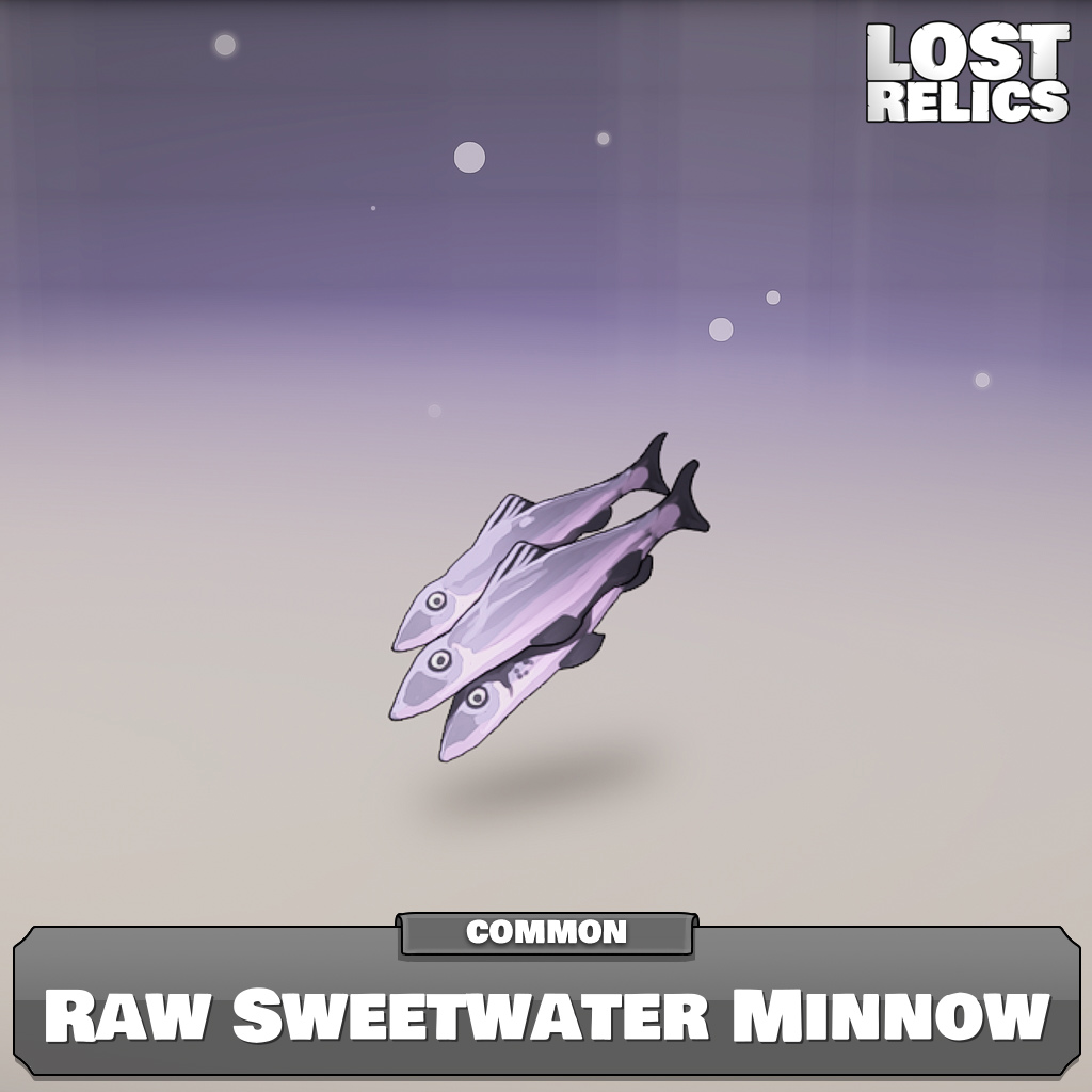 Raw Sweetwater Minnow Image