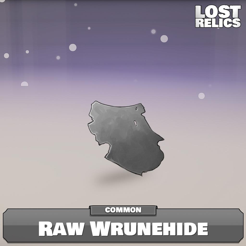 Raw Wrunehide Image