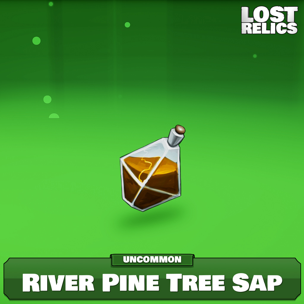 River Pine Tree Sap Image