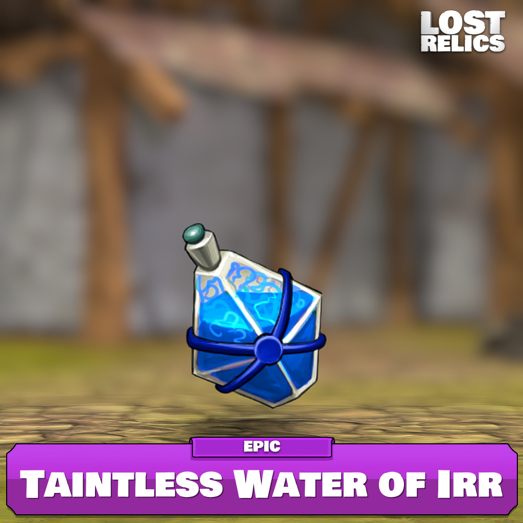 Taintless Water of Irr Image