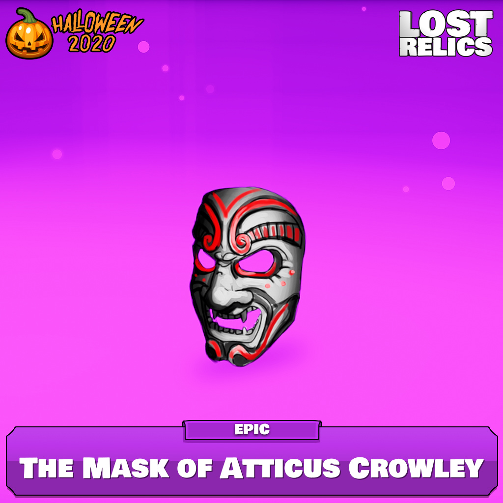 The Mask of Atticus Crowley Image