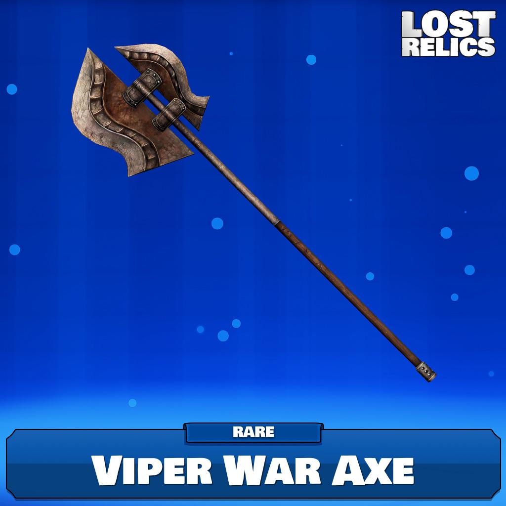 Viper War Axe Image