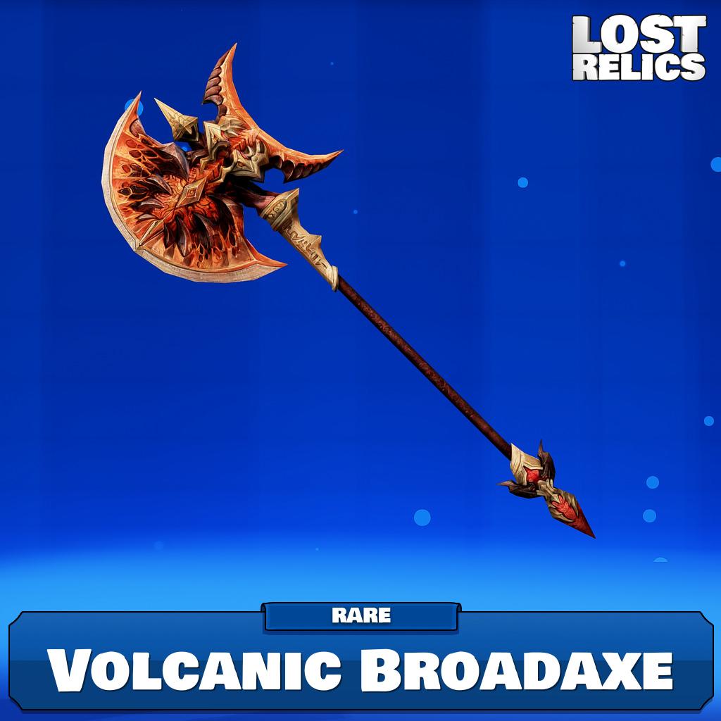 Volcanic Broadaxe Image