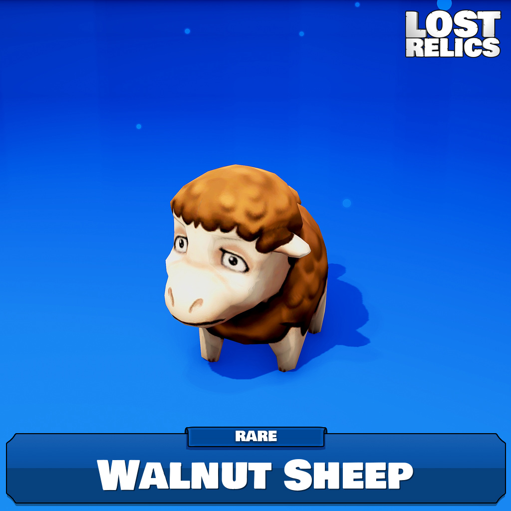 Walnut Sheep Image