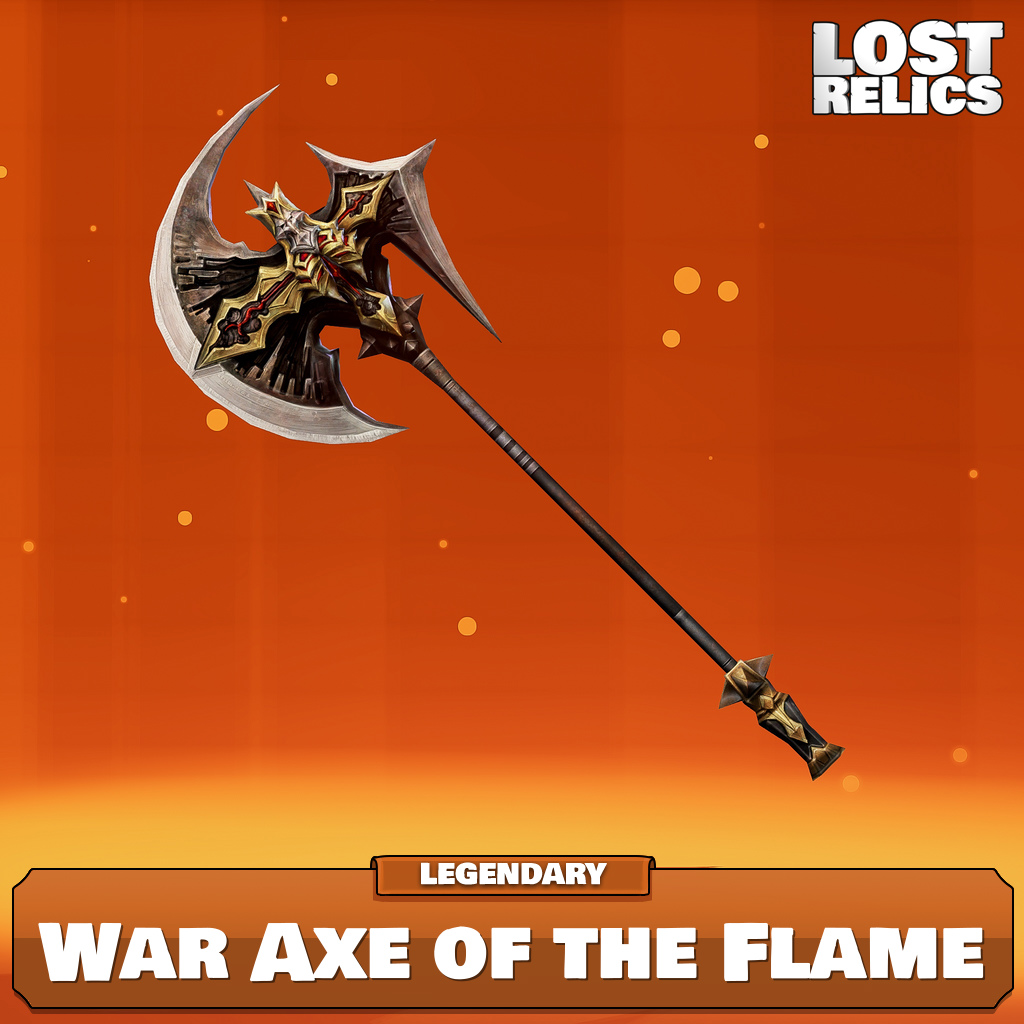 War Axe of the Flame Image