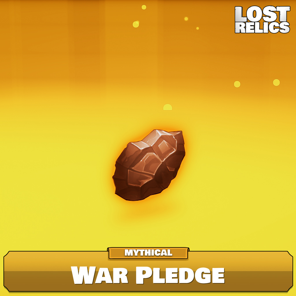 War Pledge Image