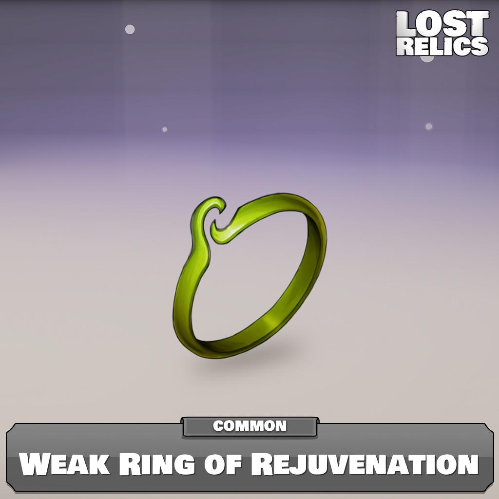 Weak Ring of Rejuvenation Image