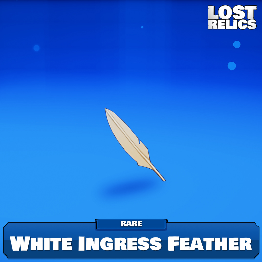 White Ingress Feather Image