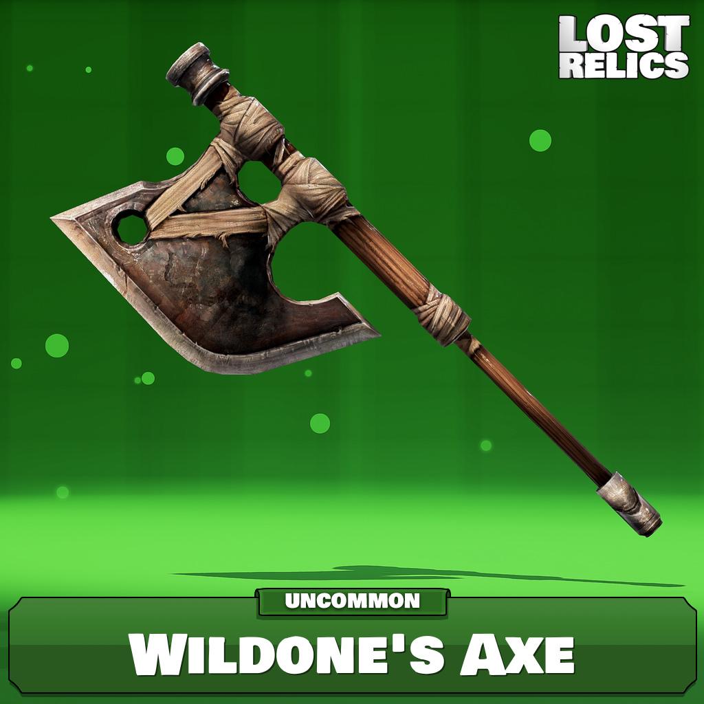 Wildone's Axe Image