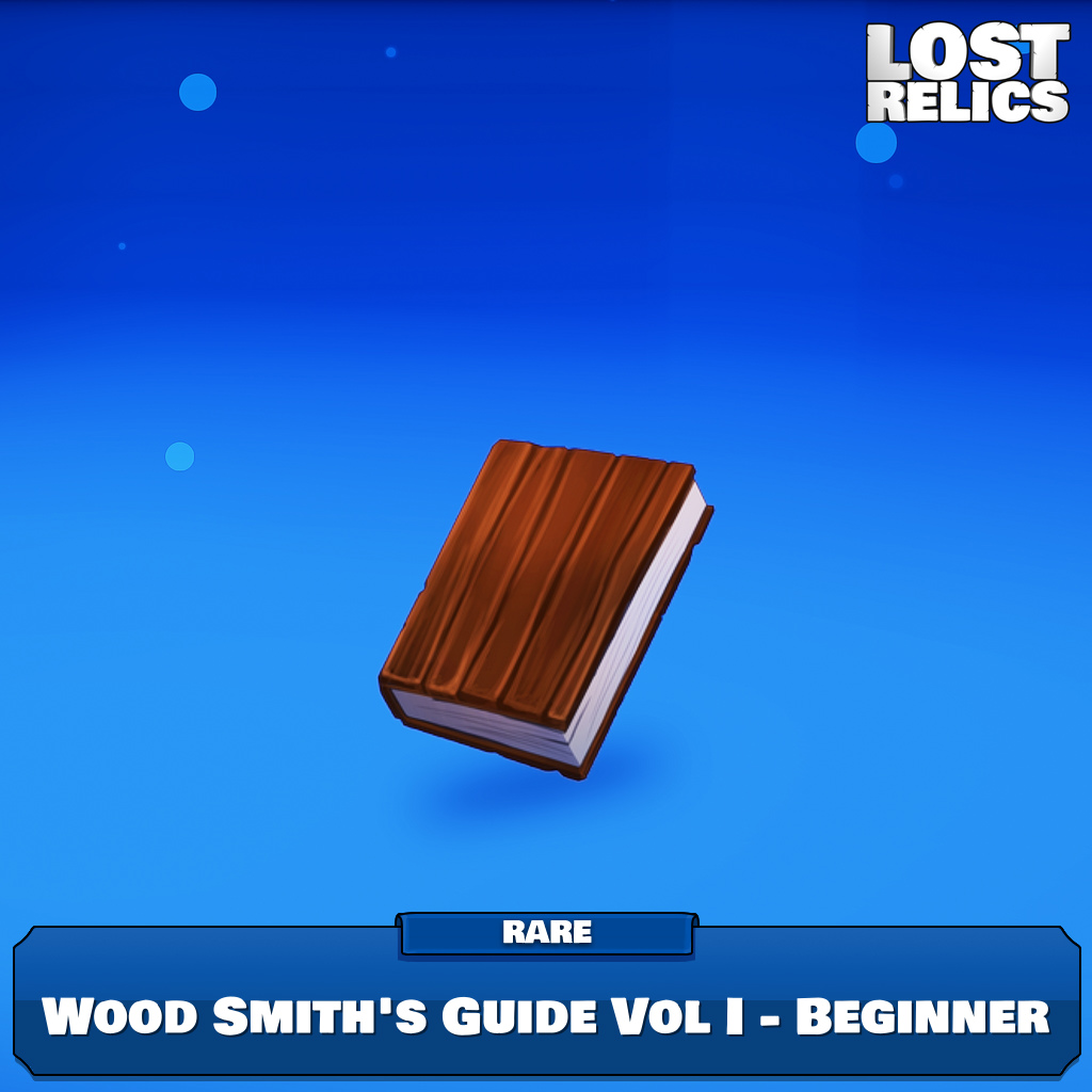 Wood Smith's Guide Vol I - Beginner Image