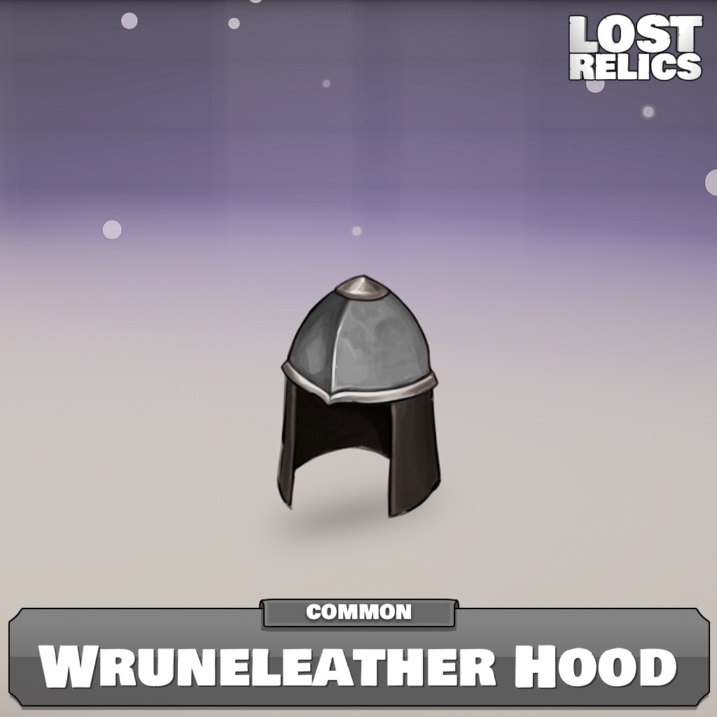 Wruneleather Hood Image
